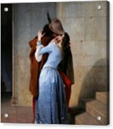 Hayez, The Kiss Acrylic Print