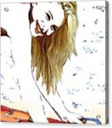 Hayley Number Fifteen Acrylic Print