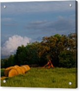 Haymaker Clouds Acrylic Print