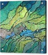 Haystack Mountain Acrylic Print