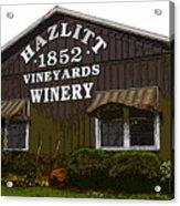 Hazlitt Winery 1852 Acrylic Print