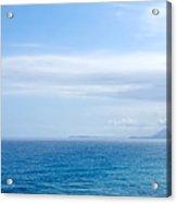 Hazy Ocean View Acrylic Print