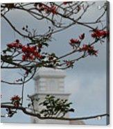 Hazy Tower Acrylic Print