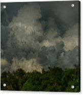 Hdr Clouds Acrylic Print