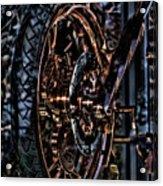 Hdr Liberty Bike Copper Ny Acrylic Print