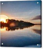 Hdr River Fun Acrylic Print