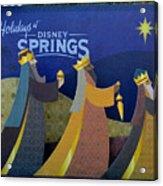 Three Wise Men Disney Springs Acrylic Print