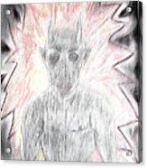 He Flame Acrylic Print