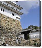 He Gate Himeji Castle Japanese Castles Doorway Gateway Japan Acrylic Print
