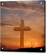 A Cross The Universe Acrylic Print