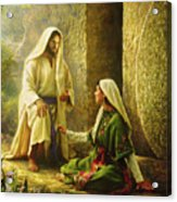 He Is Risen Acrylic Print by Greg Olsen