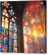 He Shall Bring You Into The Light Acrylic Print