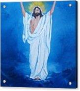 He Walked On Water Acrylic Print