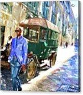 He Walks Acrylic Print