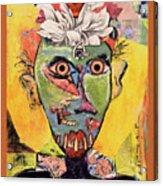 Head Case Acrylic Print