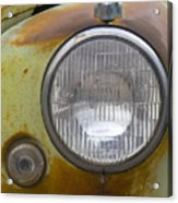 Head Light Acrylic Print
