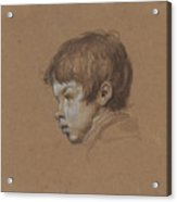Head Of A Boy Acrylic Print