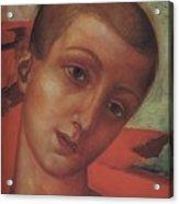 Head Of A Youth Kuzma Petrov-vodkin - 1910 Acrylic Print