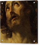 Head Of Christ Crowned With Thorns 1620 Acrylic Print