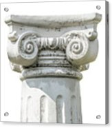 Head Of Column Acrylic Print