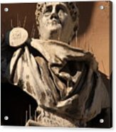 Head Of Nero In Venice Acrylic Print