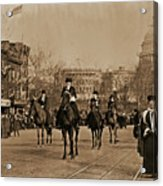 Head Of Washington D.c. Suffrage Parade Acrylic Print