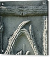 Head Stone  Acrylic Print