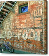 Head To Foot Acrylic Print