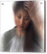 Headache Sufferer Acrylic Print
