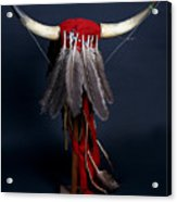 Headdress Acrylic Print