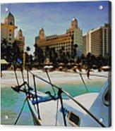 Headed For The Beach Acrylic Print