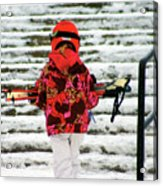 Heading For The Slopes Acrylic Print