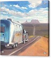 Heading South Towards Monument Valley Acrylic Print
