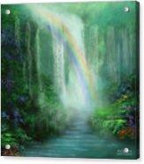 Healing Grotto Acrylic Print