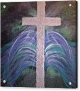 Healing In His Wings Acrylic Print