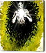Healing Is In Himself Acrylic Print by Paulo Zerbato