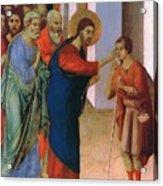 Healing The Man Born Blind Fragment 1311 Acrylic Print