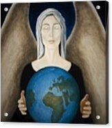 Healing The Planet Acrylic Print