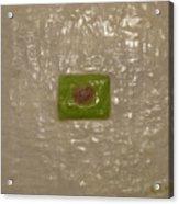 Healing With Green  Acrylic Print