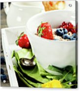 Healthy Breakfast Acrylic Print