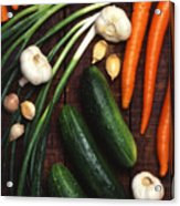 Healthy Vegetables Acrylic Print
