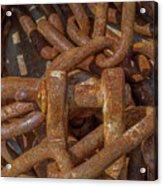 Heaped Chains 04 Acrylic Print