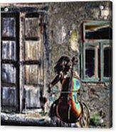 Hear The Cello Sing Acrylic Print