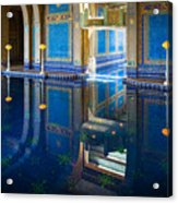 Hearst Pool Acrylic Print