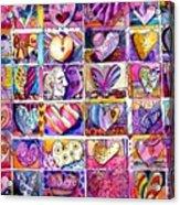 Heart 2 Heart Acrylic Print