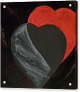 Heart Blocker Acrylic Print