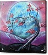 Heart Blossom Acrylic Print
