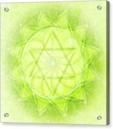 Heart Chakra Series Two Acrylic Print