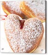 Heart Donuts Acrylic Print