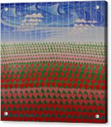 Heart Fields Acrylic Print